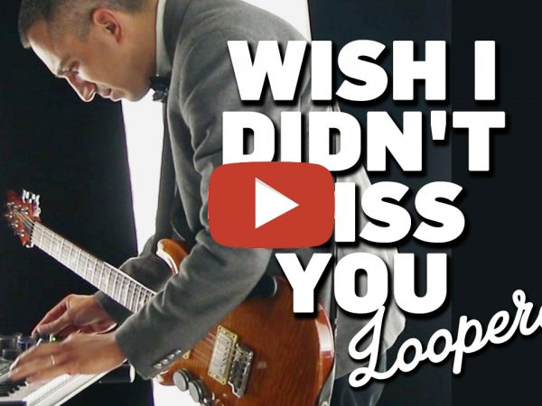 Angie Stone / Wish i didn't miss you (cover by Looperay™) from LIVE COVER SESSION