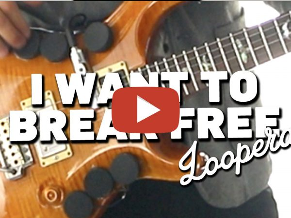 Queen – I Want to Break Free (cover by Looperay™) from LIVE COVER SESSION